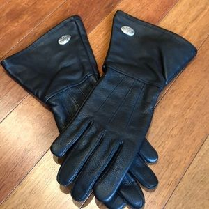 Women's NWT Harley-Davidson leather riding gloves
